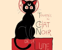 Chat Noir de la Lune