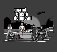 Grand Theft Delorean
