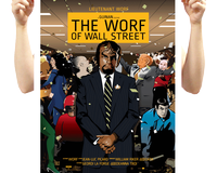 The Worf of Wall Street Poster