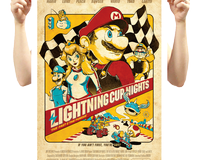 Lightning Cup Nights: The Fast & The Fungus Poster