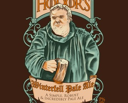 Detail View of T-Shirt - Hodor's Pale Ale
