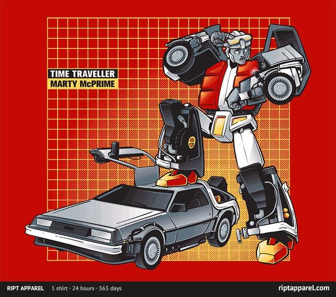Marty-McPrime tshirt