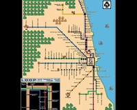 Super Mario 3 Chicago L Train Map